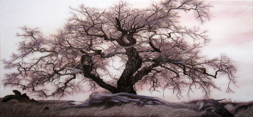 King Silk Art Landscape Tree 77200