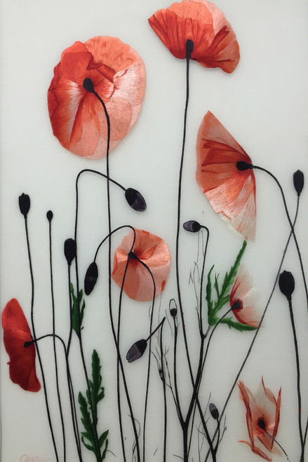 King Silk Art Poppy 76154