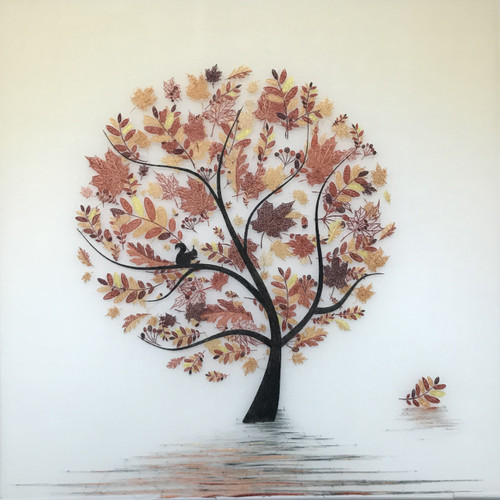 King Silk Art  Contemporary Autumn leaves 77346