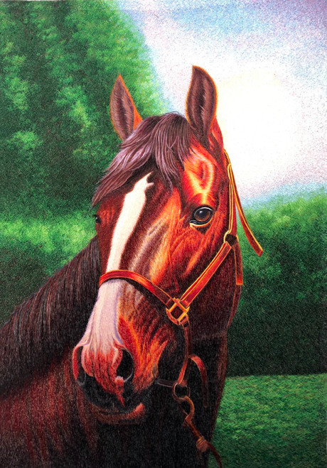 King Silk Art  Wildlife  Horse 74150