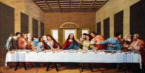 King Silk Art  People The Last Supper 75116