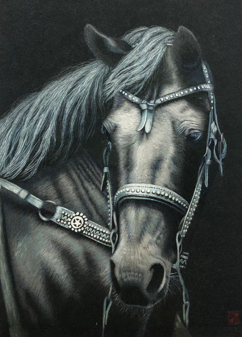 King Silk Art  Wildlife Horse 74148