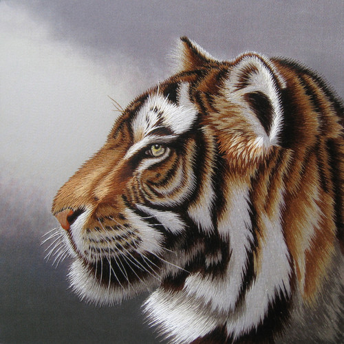 King Silk Art  Tiger 74119