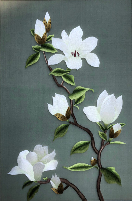 King Silk Art  Flower Magnolia 96002