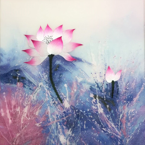 King Silk Art  Flower  Lotus 76420