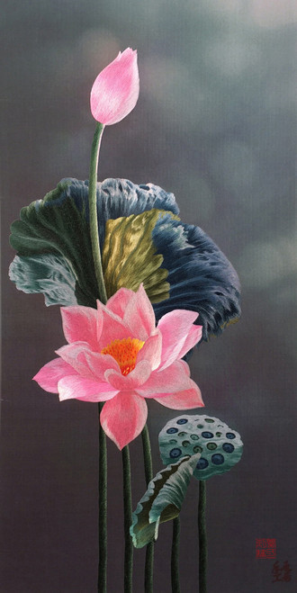 King Silk Art  Flower Lotus 76181