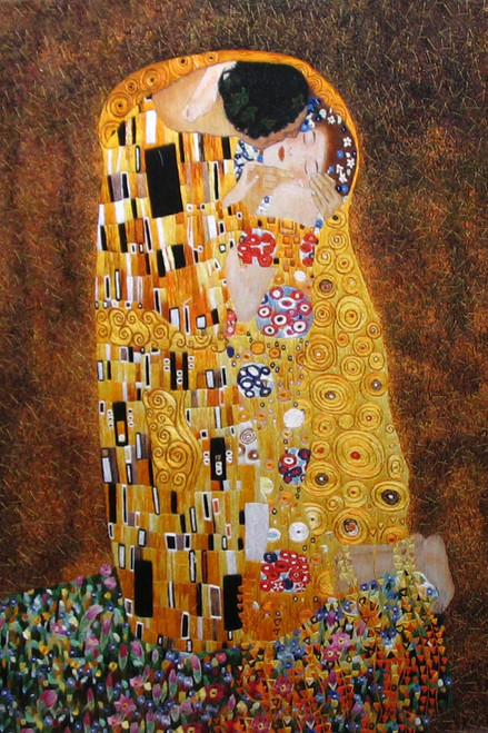 King Silk Art  People The Kiss-Klimt 75016