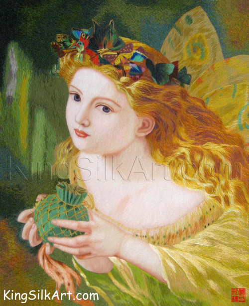 King Silk Art  People Fairy and Butterflies-Anderson 75102