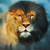 King Silk Art  Lion Head 74015