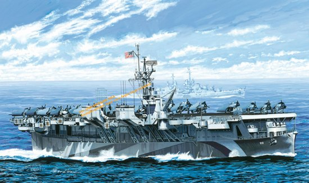 Dragon  7054  1/700 USS Independence CVL-22 1943