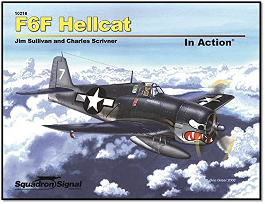 F6F Hellcat  in Action Squadron/Signal SS10216