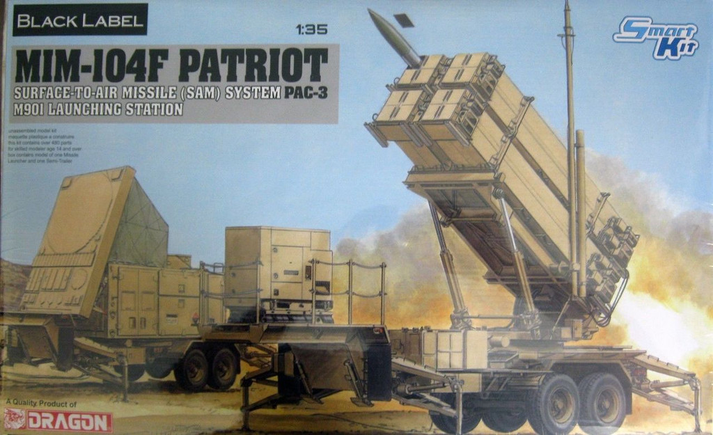 Dragon 3563 1/35 MIM-104F Patriot SAM System PAC-3 M901 Launching Station