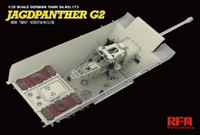 Rye Field  5022 1/35  Jagdpanther G2 w/ full interior & workable track links