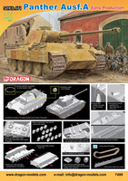 Dragon  7499 1/72 Sd.Kfz.171 Panther A Early Production