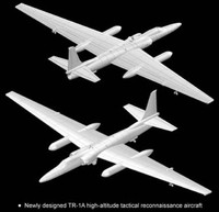 Dragon 4640   1/144 Lockheed TR-1A (U-2)