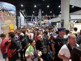 Where are the Board Games at ComiCon?