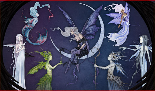 A bevy of fairies to lighten your game table.