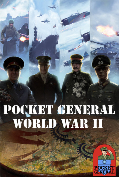 Pocket General WWII Box Cover