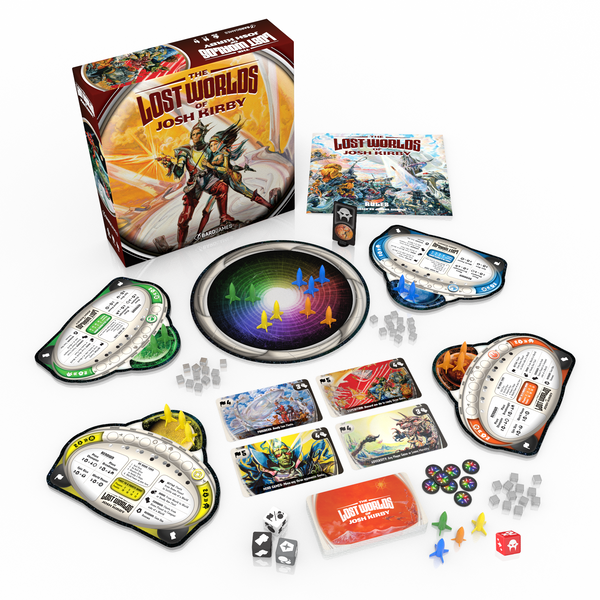 Game components and box (prototype)