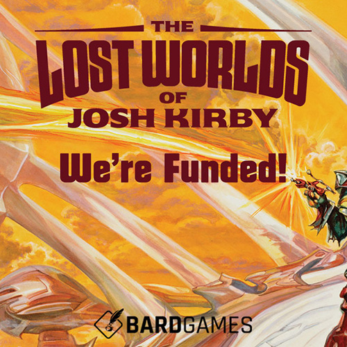 The Lost Worlds of Josh Kirby Kickstarter Campaign