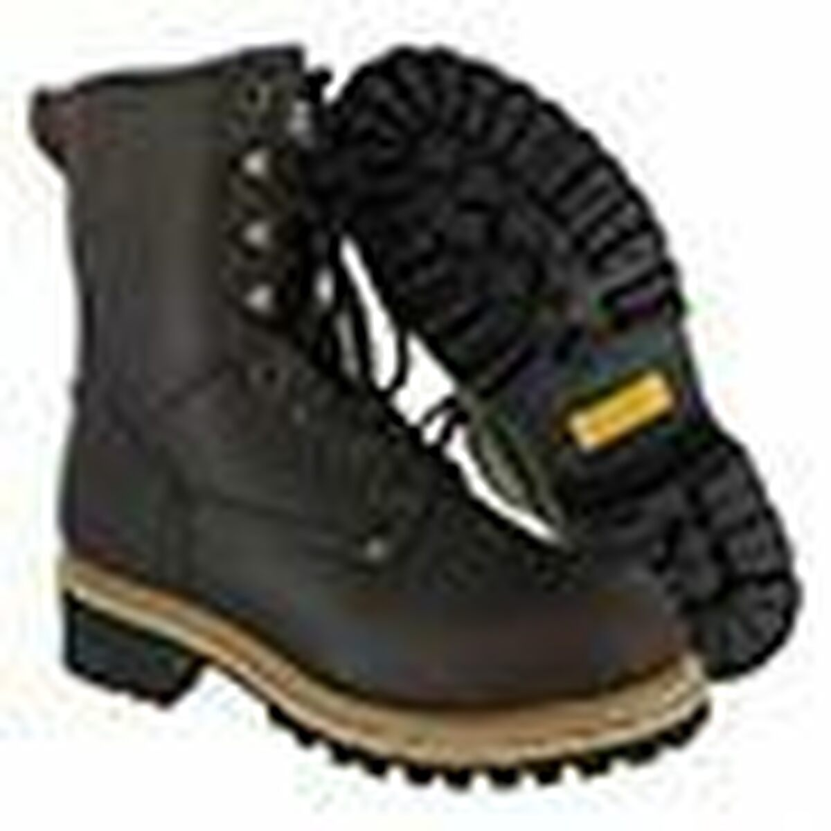 Men's Rugged Blue Work Boots