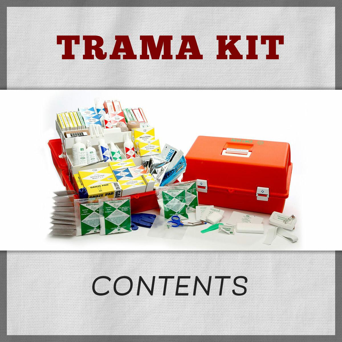 Trauma First Aid Kit Refill