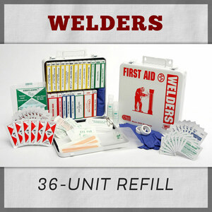 Welders 36 Unit Welders First Aid Kit Refill
