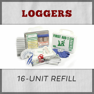 Loggers 16-Unit First Aid Kit Refill