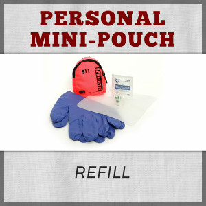 Personal Mini-Pouch First Kit Refill