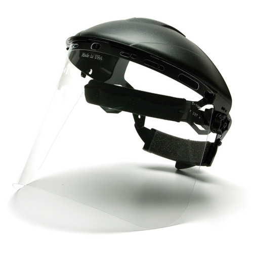 Pyramex Polycarbonate Clear Face Shield - S1020 - Shield Only