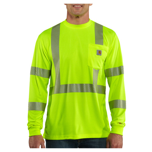 Carhartt Force Class 3 High-Vis Long Sleeve Shirt - 100496