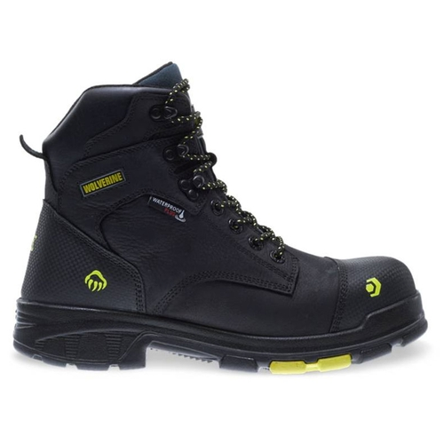 """Wolverine Men's Black Blade LX 6"""" WP Carbonmax Safety Toe Boots - W10652"""