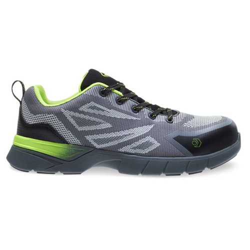 Wolverine Men's Jetstream 2 Grey/Green CarbonMAX Safety Toe Shoes