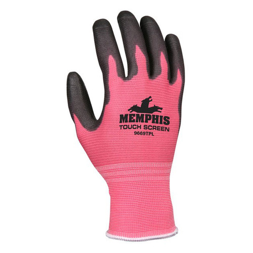 Memphis Women's Touch Screen Polyurethane Gloves - 9669TP