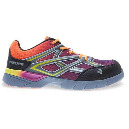 Wolverine Women's Multicolored JetStream Carbonmax Safety Toe Shoes - W10693