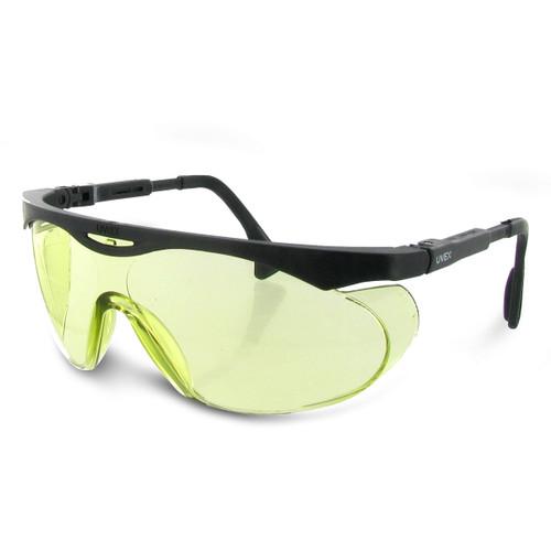 Uvex Skyper Safety Glasses w/ Black Frame & Low IR Lens
