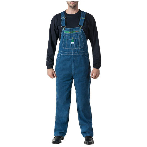 Liberty Men's Stonewashed Denim Bib Overall - 14006