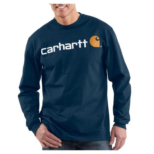 Carhartt Signature Logo Long-Sleeve T-Shirt - K298