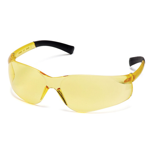 Pyramex Ztek Safety Glasses w/ Amber Lens