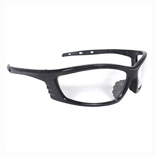 Radians Chaos Safety Glasses - Black Frame - Clear Lens