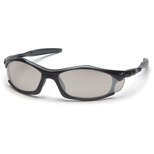 Pyramex Solara Safety Glasses w/ Indoor/Outdoor Mirror Lens