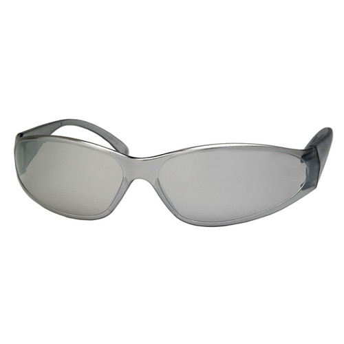 ERB Boas Safety Glasses with Mirror Lens and Frame