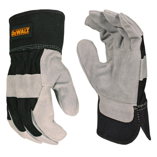 DeWalt Cowhide Leather Palm Work Gloves - DPG42