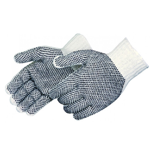 Liberty Womens Two-Sided PVC Dotted Gloves - 4715SP/LD