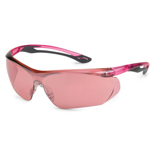Gateway Safety Parallax Safety Glasses - Pink Mirror Lens