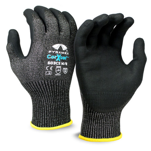 Pyramex Safety Micro-Foam Nitrile Dipped Gloves GL603C5 - Single Pair