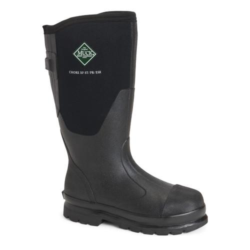 Muck Boots Women's Chore Steel Toe Tall Waterproof Work Boots