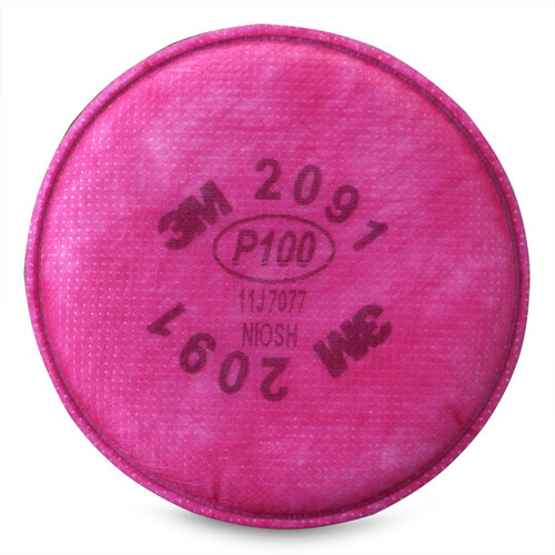 3M 2091 Particulate Replacement Filter - 2 Filters