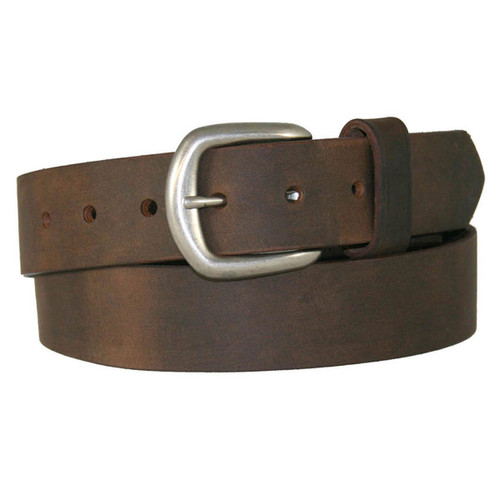 """Boston Leather 1-1/2"""" Chieftain Leather Belt"""