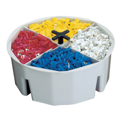 4 Inch High, Full-Round Bucket Tray by CLC